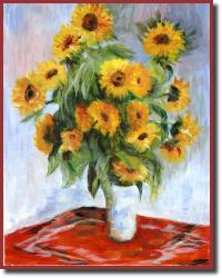 NancysMonetsSunflowers1